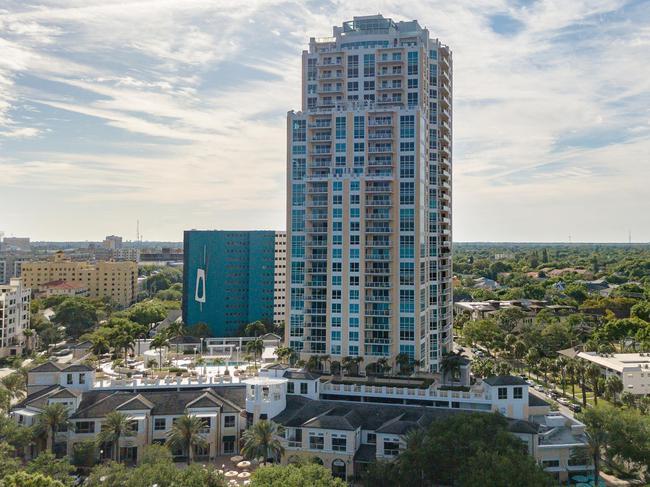 400 Beach Drive Luxury Condos Downtown St Petersburg Florida