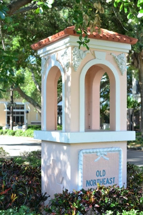 Del Centro Condos is in Historic Old Northeast, just north of Downtown St Petersburg Florida