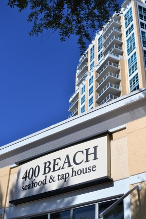 400 Beach Drive Seafood and Taphouse Downtown St Petersburg Florida