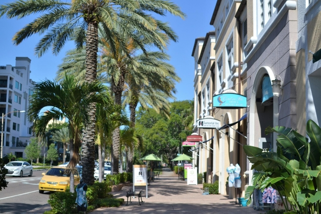 Plenty of shopping and dining options at your doorstep in Downtown St Petersburg Florida