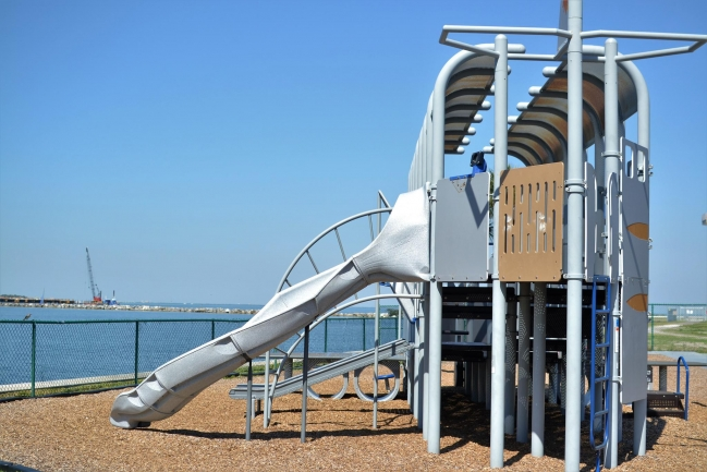 Bring the family to play at Albert Whitted Park just steps away from Bayfront Towers in Downtown St Petersburg Florida