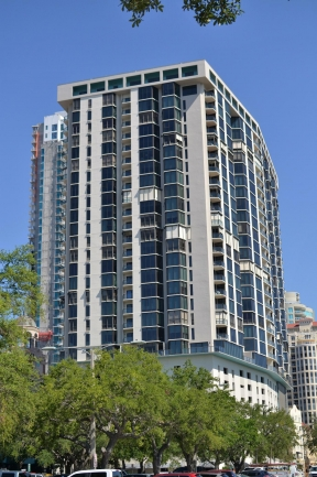 Bayfront Towers in Downtown St Petersburg Florida