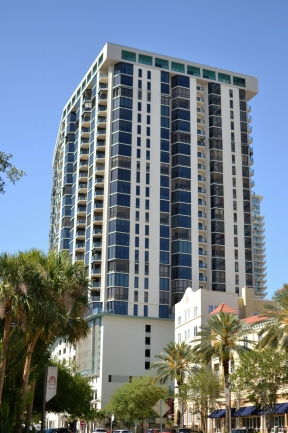 Bayfront Towers Downtown St Petersburg Florida