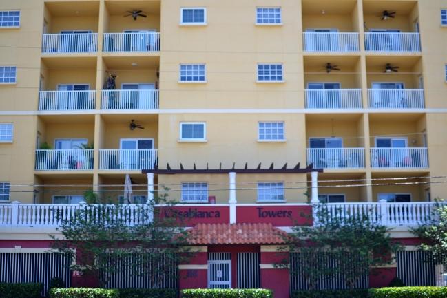 Casablanca Towers Condos in Downtown St Petersburg Florida